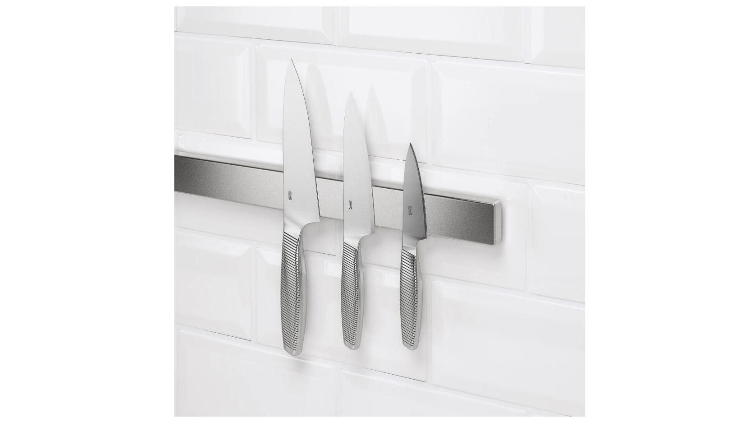 IKEAのKUNGSFORS クングスフォルス マグネットナイフラック