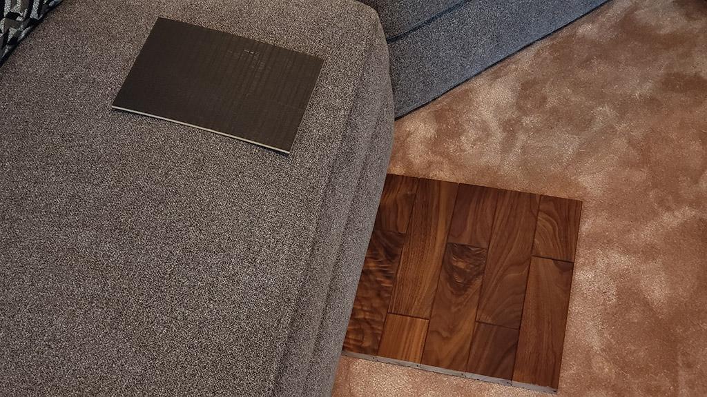 XPIと床材、テーブルとの相性確認
