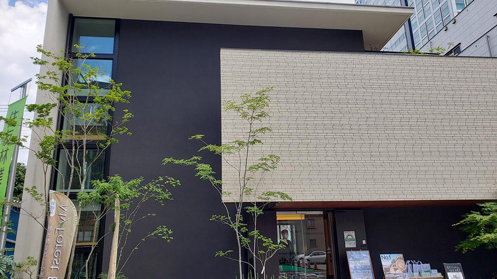 品川展示場(シーサンドコートと平田タイルのブラストガルの組み合わせ)