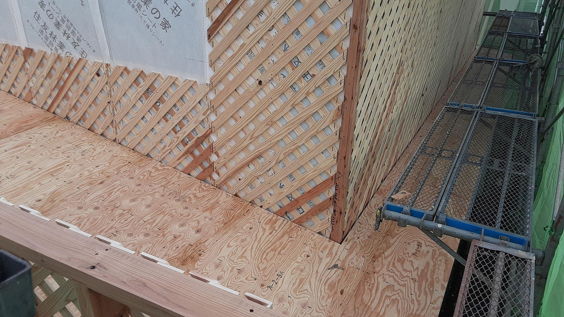2階のサブ屋根