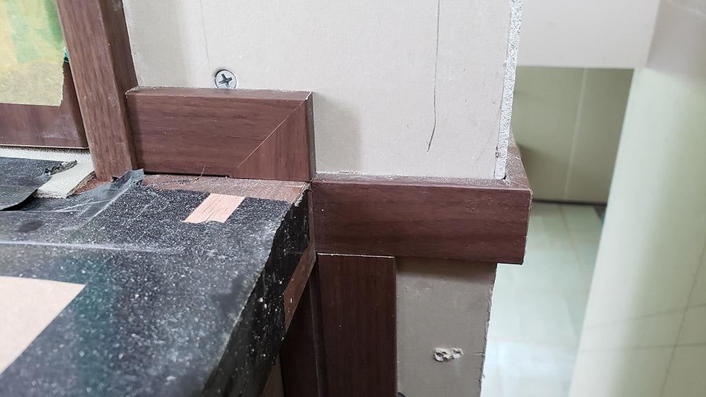 巾木の納まり(2~3階)