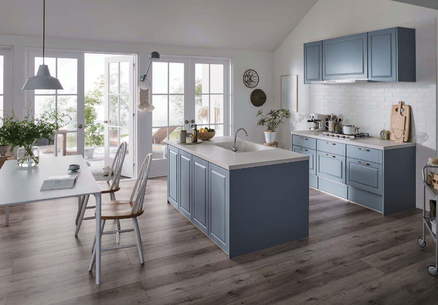 II型キッチン(デュエ)の例(出典:LIXIL)