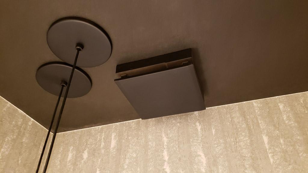 品川展示場のトイレの換気口